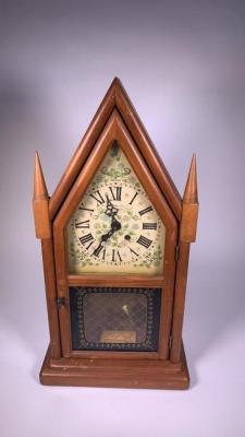 New England Clock Company Steeple Clock
