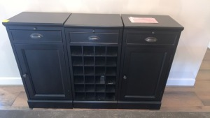 Pottery Barn Wine Cabinet
