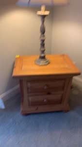 Nightstand W/ Lamp