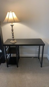 Small Desk w/ Lamp