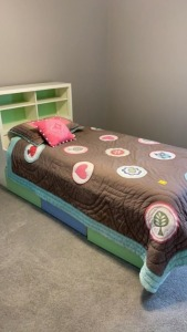 Kids Bed w/ Storage