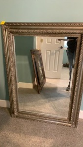 Beautiful Framed Beveled Mirror