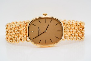 Patek Philippe 1980s Golden Ellipse 18K Watch