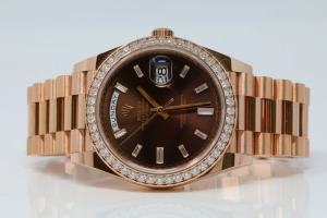 Rolex 18K Rose Gold Presidential Day Date Watch
