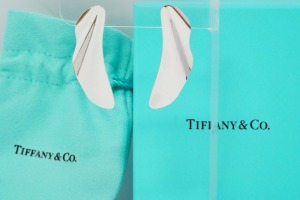 Tiffany & Co. Elsa Peretti Silver High Tide Earrings