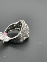 Diamond Dinner Ring 3 ctw - 9