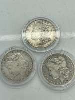 (2) S & (1) D Morgan Dollars
